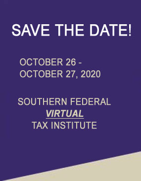 Save the Dates - Oct 21 - 25, 2019